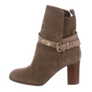 Tory Burch Robynne Suede Booties